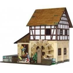 MULINO AD ACQUA A GRATICCIO in legno da costruire WALACHIA età 8+ costruzioni
