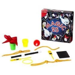set MAGIC 25 kit giochi magici MAGIA prestigiatore DAL NEGRO dalnegro TRUCCHI