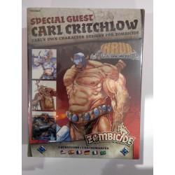 Zombicide Black Plague Survivors CARL CRITCHLOW heroes Kickstarter