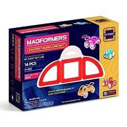 MAGFORMERS My First Buggy Car Set 14 PZ line COSTRUZIONI magnetiche 3D età 3+