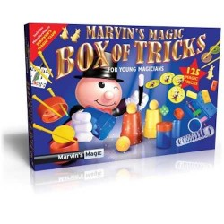 Marvin's Magic BOX OF TRICKS Made Easy 125 TRUCCHI MAGICI magia KIT prestigiatore illusionista 6+