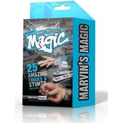 Marvin's Magic MIND-BLOWING TRICKS set kit 25 TRUCCHI E MAGIE STRABILIANTI blu MAGIA magico ILLUSIONISTA età 8+