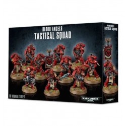 BLOOD ANGELS TACTICAL SQUAD Warhammer 40k ANGELI SANGUINARI 10 miniature GAMES WORKSHOP età 12+