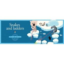 SNAKES AND LADDERS scale e serpenti GIOCO IN SCATOLA Djeco DADO tabellone DJ05208 età 5+