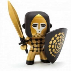 GOLDEN KNIGHT cavalieri ARTY TOYS action figure DJECO in resina DJ06701 snodabile MINIATURA età 4+