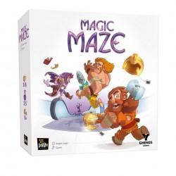 MAGIC MAZE gioco GHENOS GAMES dungeon EROI AL SUPERMERCATO edizione italiana SIT DOWN collaborativo SIMULTANEO età 8+