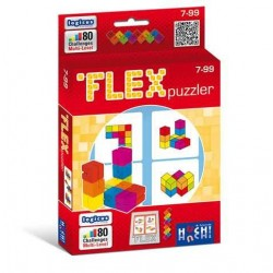FLEX PUZZLER rompicapo HUCH solitario gioco di abilità 3D DaVinci