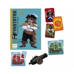 Piratatak - giochi di carte Djeco pirati