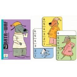 Bata-waf - giochi di carte Djeco gioco carta più alta DJ05104