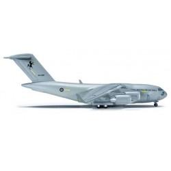 ROYAL AUSTRALIAN AIR FORCE BOEING C-17A GLOBEMASTER HERPA WINGS 523349 scala 1:500 model