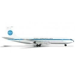PAN AM BOEING 707-300 HERPA WINGS 524315 scala 1:500 model