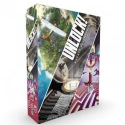 UNLOCK! gioco di carte 3 SCENARI escape room ASTERION fuggire in 60 minuti UNLOCK età 10+