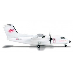 INTERFLUG DASH 8-100 HERPA WINGS 523806 scala 1:500 model