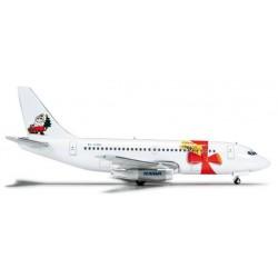 RYANAIR BOEING 737-200 MERRY CHRISTMAS 1997 HERPA WINGS 523547 scala 1:500 model