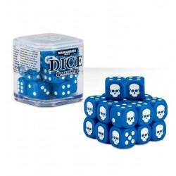SET DI 20 DADI colorati CLASSICI Warhammer BLU cubo GAMES WORKSHOP Age of Sigmar e 40k