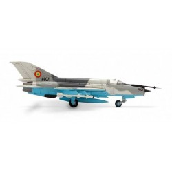 ROMANIAN AIR FORCE MIKOYAN MIG-21 HERPA WINGS 552431 scala 1:200 model
