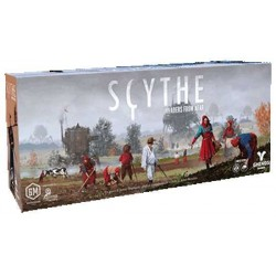 SCYTHE INVADERS FROM AFAR espansione in italiano GHENOS gioco di strategia