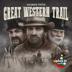GREAT WESTERN TRAIL gioco da tavolo western in italiano UPLAY per esperti