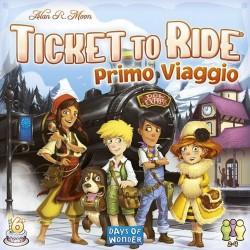 TICKET TO RIDE Primo Viaggio GIOCO DA TAVOLO italiano TRENI ferrovie PER I PIU' PICCOLI età 6+
