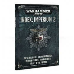 libro INDEX: IMPERIUM 2 codex WARHAMMER 40000 40K caos MANUALE a colori 168 PAGINE