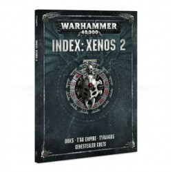 Libro INDEX: XENOS 2 codex WARHAMMER 40000 40K a colori MANUALE 144 pagine