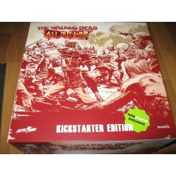 THE WALKING DEAD ALL OUT WAR Kickstarter Exclusive Wave 1 & 2 miniature game Something to Fear Pledge miniature
