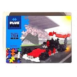 MINI BASIC 170 pezzi PLUSPLUS gioco modulare costruzioni AUTO DA CORSA plus plus F1 età 5+