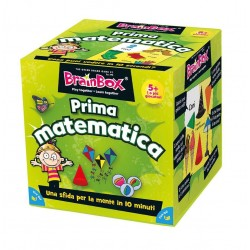 BRAIN BOX PRIMA MATEMATICA italiano gioco di carte memoria da 5 anni memory brainbox
