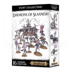 START COLLECTING Warhammer DAEMONS OF SLAANESH 16 miniature GAMES WORKSHOP Citadel AGE OF SIGMAR età 12+