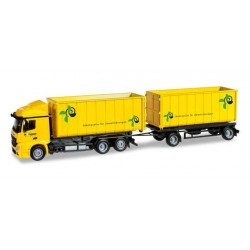 MERCEDES BENZ ACTROS STREAMSPACE HOFMANN DENKT Herpa 304580 Auto Trucks Camion scala 1:87 model