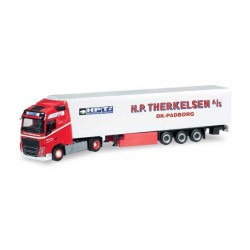 VOLVO FH GL REFRIGERATED SEMITRAILER THERKELSEN Herpa 304559 Auto Trucks Camion scala 1:87 model