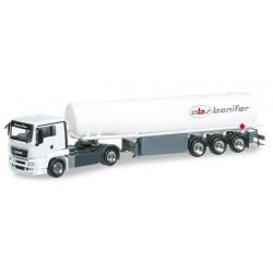 MAN TGS L FUEL TANK ABS BONIFER Herpa 303842 Auto Trucks Camion scala 1:87 model