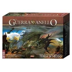 LA GUERRA DELL'ANELLO seconda edizione DEVIR gioco da tavolo di strategia TOLKIEN il signore degli anelli 205 MINIATURE 13+