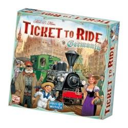 Ticket To Ride GERMANIA impero tedesco GIOCO DA TAVOLO edizione italiana FERROVIE età 8+