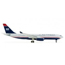 US AIRWAYS AIRBUS A330-200 HERPA WINGS 517898 scala 1:500 model