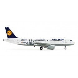 LUFTHANSA AIRBUS A320-200 HERPA WINGS 554350 scala 1:200 model