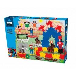 MINI BASIC 760 pezzi PLUSPLUS gioco modulare CIRCO costruzioni PLUS PLUS età 5+