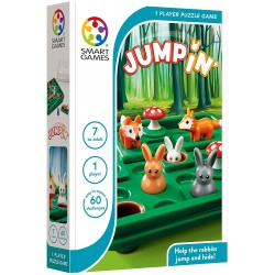 JUMPIN gioco solitario puzzle game SMART GAMES da 7 anni