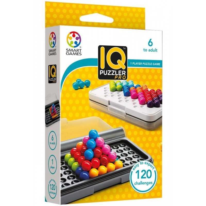 IQ PUZZLER PRO solitario gioco rompicapo Smart Games da 6 anni 120 sfide