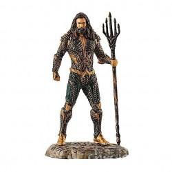 AQUAMAN justice league SCHLEICH supereroi dipinti a mano PERSONAGGI 22560 miniature in resina DC età 3+