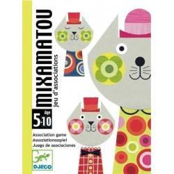 MIXAMATOU by DJECO gioco di carte DJ05130