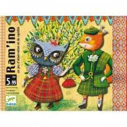 RAM'INO by DJECO gioco di carte di Ramino DJ05197