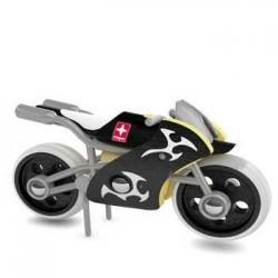 E-SUPERBIKE MOTO IN LEGNO MACCHININA - HAPE età 3+