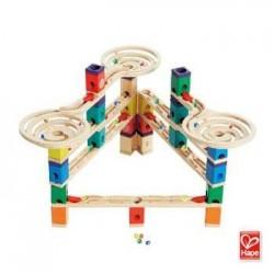QUADRILLA VERTIGO set base gioco piste in legno per biglie età 4+