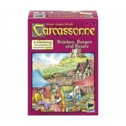 Carcassonne: Bazar, ponti e castelli espansione