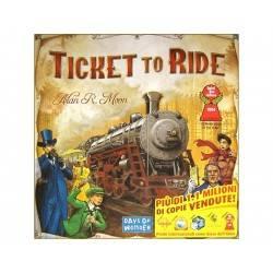 Ticket to Ride edizione italiana gioco da tavolo ferrovie per famiglie