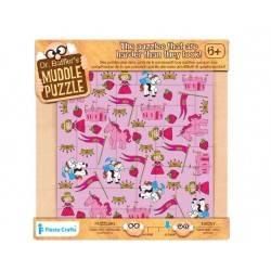 Puzzle 22 pz. Principessa, età 6+