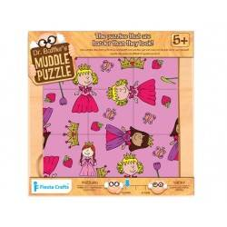 Puzzle 9 pz. Principessa, età 5+