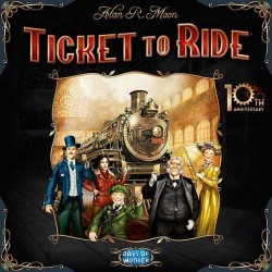 TICKET TO RIDE 10th Anniversary Edition gioco da tavolo treni edizione speciale