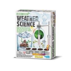 WEATHER SCIENCE 4m SCIENZA DEL TEMPO Gioco scientifico in kit KIDZLABS età 8+